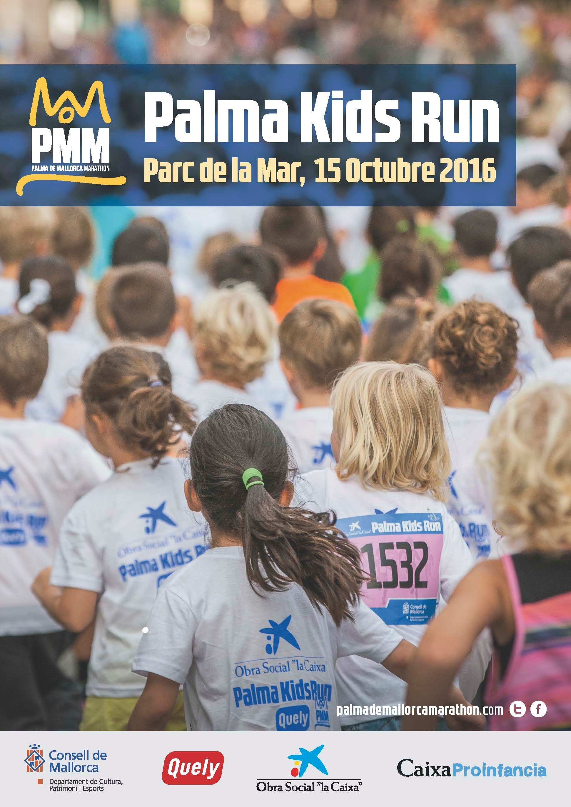 Gráfica Palma Kids Run 2016