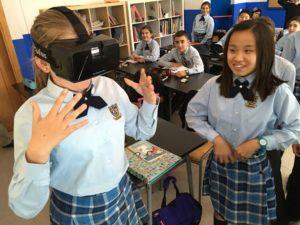 Realidad virtual en colegios