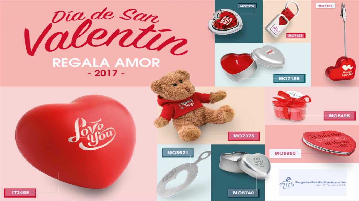 Regalos personalizados para San Valentín