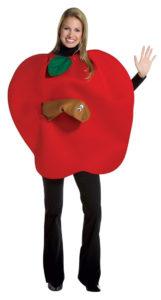 Disfraz manzana goma EVA