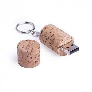 Memoria USB corcho