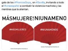 Merchandising con hashtags en abanicos publicitarios