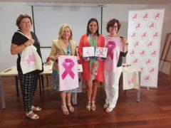 regalos solidarios en la IV Marcha Rosa