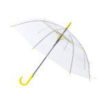 paraguas antiviento transparente