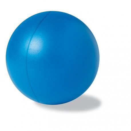 pelota antiestrés azul para pausas activas