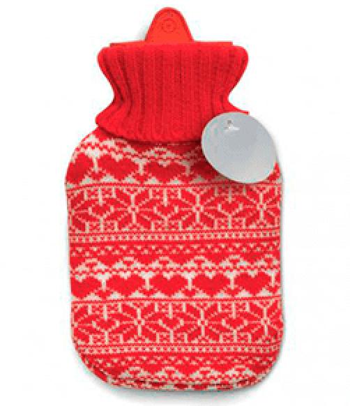 bolsa para agua caliente nórdica