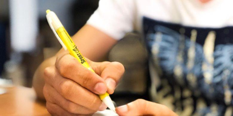 bolígrafo personalizado grabado