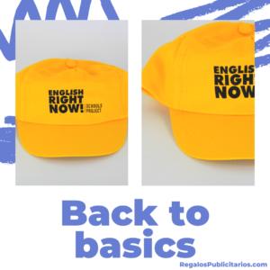 cómo usar gorras